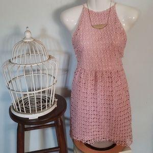 NWT Romeo & Juliet Dusty Pink Dress